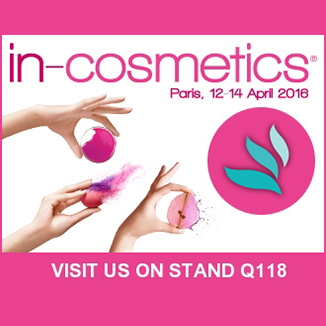 IN-COSMETICS 2016 - 12 au 14 avril 2016